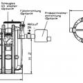 Technische Zeichnung Fettabscheider