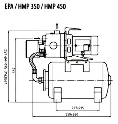 Zehnder HMP Abmessungen