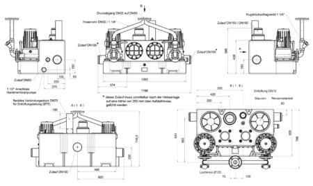 Zehnder Kompaktboy SE 71 Doppelanlage Abmessungen